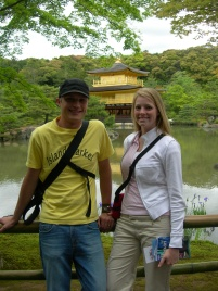 Pitt And Becky Kyoto Japan
