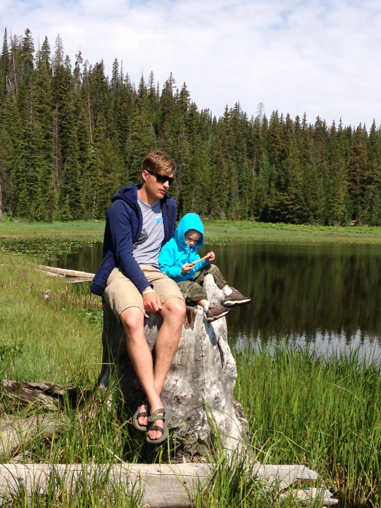 When the city is full of punks blowing off fireworks, head for the Uintas. Family camping trip and exploration.